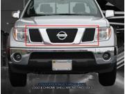 Fedar Main Upper Billet Grille For 2005-2008 Nissan Pathfinder Frontier - Black 9SIAD0D5C20998
