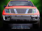 Fedar Main Upper Billet Grille For 2005-2008 Nissan Pathfinder 2005-2007 Frontier - Polished 9SIAD0D5C20763