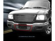 Fedar Lower Bumper Billet Grille For 2001-2003 Ford Ranger 2WD - Polished