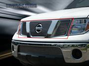 Fedar Main Upper Billet Grille For 2005-2008 Nissan Pathfinder Frontier - Polished 9SIAD0D5C20774
