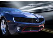 Fedar Lower Bumper Billet Grille For 2010-2013 Chevrolet Camaro LT LS V6 - Black 9SIAD0D5C21236