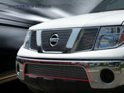 Fedar Lower Bumper Billet Grille For 2005-2015 Nissan Pathfinder Frontier - Polished 9SIAD0D5C20654