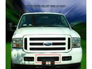 Fedar Lower Bumper Billet Grille For 2005-2007 Ford F-250/F-350/F-450/F-550/Excursion - Black