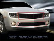 Fedar Billet Grille Combo For 2010-2013 Chevy Camaro LT/LS V6 - Black 9SIAD0D5C68156
