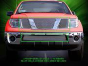 Fedar Billet Grille Combo For 2005-2008 Nissan Pathfinder Frontier - Polished 9SIAD0D5C67729