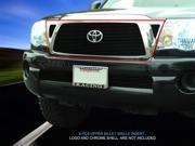 Fedar Billet Grille Combo For 2005-2010 Toyota Tacoma - Black