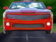 Fedar Billet Grille Combo For 2010-2013 Chevy Camaro SS V8 - Polished