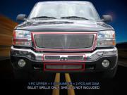 Fedar Billet Grille Combo For 2003-2006 GMC Sierra 1500 2500 3500 - Polished