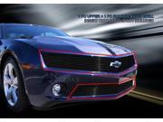 Fedar Billet Grille Combo For 2010-2013 Chevy Camaro LT/LS V6 - Black 9SIAD0D5C67747
