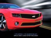 Fedar Billet Grille Combo For 2010-2013 Chevy Camaro LT V6/LS V6 - Black 9SIAD0D5C67892