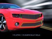 Fedar Billet Grille Combo For 2010-2013 Chevrolet Camaro LT LS RS SS - Polished 9SIAD0D5C67940