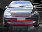Fedar Billet Grille Combo For 2000-2004 Ford Focus - Polished