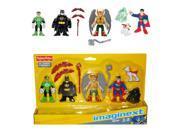 Imaginext DC Comics Super Friends Heroes Figure Set Batman Superman Superdog Hawkman Fisher-Price X7575 9SIAD185KN7210