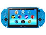 PS Vita PlayStation Vita New Slim Model PCH 2006 Aqua Blue