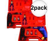 2pk Hot Staple Gun Kit for Plastic Repair