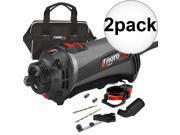 Roto Zip SS560VSC-30 120V RotoSaw/Variable Speed Spiral Saw Kit Refurb 2-Pack