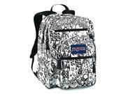 Jansport Big Student Backpack (White/Black Free Spirit)