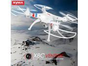 Original Syma X8C 4CH 2.4GHz 6 Axis RC Quadcopter 2.0MP HD Camera Drone US Plug + 2 Battery