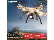 Original SYMA 2.0 MP Camera RC Drone Syma X8HW 2.4GHz WIFI FPV Real-time RTF 4CH Headless Mode Altitude Hold RC Quadcopter US Plug