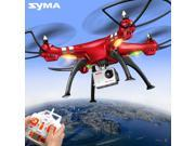 Original Syma X8HG RC Drone 8MP HD Camera 4CH Red Quadcopter X8G Upgrade Altitude Hold US Plug