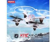 Syma X11C 4 Channel 2.4Ghz RC Quadcopter with 2MP HD Camera  Mini RC Drone Aircraft White