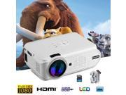 Excelvan Portable Mini LED Projector HD 1080P Multimedia Home Cinema Theater VGA HDMI USB SD AV ATV 9SIAD335BV7906