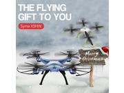 Syma X5HW WIFI Camera RC Headless Quadcopter Drone FPV Real-time Transmission Barometer Altitude Hold White 9SIAD335BY6550