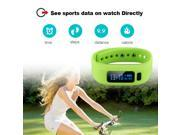 Bluetooth V4.0 OLED Smart Health Bracelet Wristband Watch Sports Pedometer Calorie Fitness Tracker Sleep Monitor for Android IOS 9SIAD335HS7282