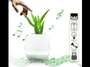 Bluetooth Portable Speaker Music Flowerpot Smart Touch LED Lamp 9SIAD336600601
