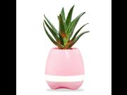Bluetooth Portable Speaker Music Flowerpot Smart Touch LED Lamp 9SIAD336602132