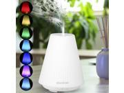 Excelvan DT-1508A Essential Oil Aroma Diffuser Ultrasonic Humidifier Air Mist Aromatherapy Purifier, 100ML 9SIAD336HE3158