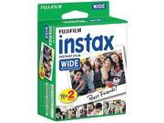 (2 packs)Fujifilm instax Wide Instant Film
