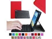 Fintie Wireless Bluetooth Keyboard Case for LG G PAD 8.3 Model V500/V510 (Wifi) & VK810 (Verizon 4G LTE), Red 9SIAD455HG9113