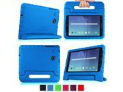 Fintie Samsung Galaxy Tab E 8.0 SM-T377 Kiddie Case - Light Weight Shock Proof Convertible Handle Cover, Blue
