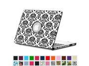 Fintie MacBook Pro 13 Case (Non-Retina) with PU Leather Coated Plastic Hard Cover Snap On Protective Cover, Versailles