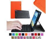 Fintie Wireless Bluetooth Keyboard Case for LG G PAD 8.3 Model V500/V510 (Wifi) & VK810 (Verizon 4G LTE), Orange 9SIAD455HG9128