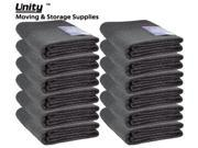 12 Pack Heavy duty Moving blankets Professional protection pads 72x80
