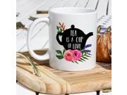 Tea Lover Mug - Tea Cup - A Cup Of Love - Green Tea Mug - Black Tea Cup - Tea Break Mug - Tea Cups - Tea Mug - Tea Lover Gifts - Teacup 9SIAD4J5N65080