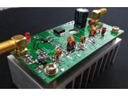 7W FM Power Amplefier HF Amplifier Board 65 110MHz Input 1mW With Heat Sink
