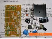 SuperiParts LM317 adjustable regulated power supply parts DIY component assembly components of PCB teaching and training