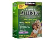 Kirkland Children's Aller-tec 16 oz 2-Pack 24-hour Allergy Relief Grape