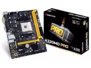 Biostar A320MD PRO AMD A320 Socket AM4 DDR4 Micro ATX Motherboard (A320MD PRO)