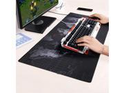 Wanmingtek XL 800*300*2mm World Map Speed Keyboard Mouse Pad Mat Computer Gaming Mousepad Locking Edge Table Mat Non slip Rubber Base for PC Computer Laptop