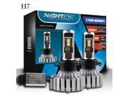 Wanmingtek H7 LED Headlight Bulbs - 6000K Cool White 80W 9000LM - 3 Year Warranty
