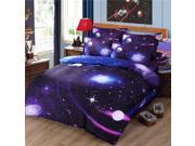 3D Printed Twin Size Bedding Set Quilt Duvet Cover w/ Pillowcase Galaxy Sky Cosmos Night (#S1) 9SIAD8S5F97112