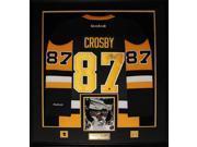Sidney Crosby Pittsburgh Penguins signed vintage jersey frame 9SIADC26DU4116