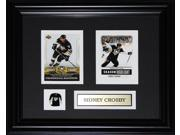 Sidney Crosby Pittsburgh Penguins 2 Card Frame 9SIADC26DU1717