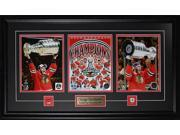 Jonathan Toews & Patrick Kane Chicago Blackhawks 2015 Stanley Cup 3 photo frame 9SIADC26DU2244