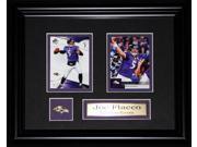Joe Flacco Baltimore Ravens NFL 2 card frame 9SIADC26DU2692