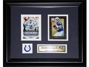 Andrew Luck Indianapolis Colts 2 card frame 9SIADC26DU2793